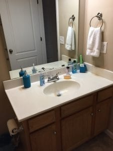 Deep Clean 2 Sink Far