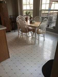 Deep House Clean Dining Area