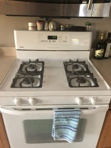 Deep House Clean Stove