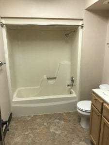 Move Out Clean Bathroom
