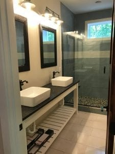 Post Construction Clean Bathroom